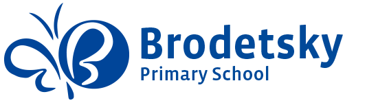 Brodetsky Primary School logo